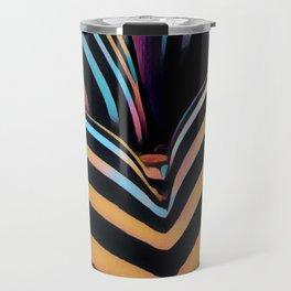 2026s-AK Striped Body Curves by Chris Maher Travel Mug