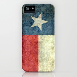 State flag of Texas, Lone Star Flag of the Lone Star State iPhone Case