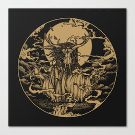 DREAMTIME - GOLD Canvas Print