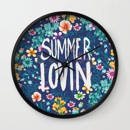 Summer Lovin Wall Clock