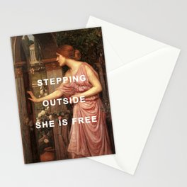 Psyche's Leaving Home Stationery Cards