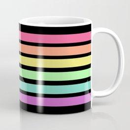 Neon Rainbow Coffee Mug