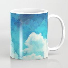 Absract Watercolor Clouds Coffee Mug