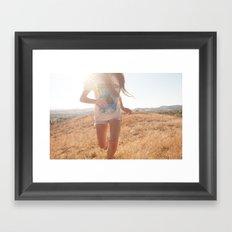 Warpaint. Framed Art Print