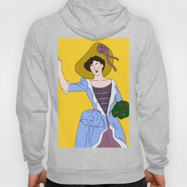 Vintage Lady Ain't Got Time Hoody