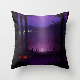 Phone Home Throw Pillow