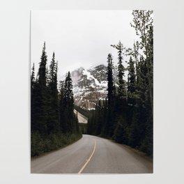 Road Trip IV / Canada Poster