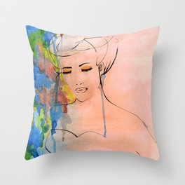 Colorful Seduction Throw Pillow