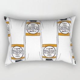 Gamblin Yellow Ochre Oil Paint Rectangular Pillow