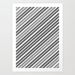 Tyre Tracks ][ Art Print
