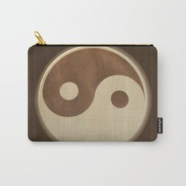 Jin Jang wooden marquetry picture art Carry-All Pouch