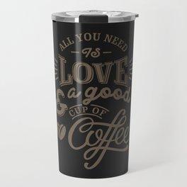Love Coffee Travel Mug