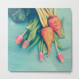 The Beet Goes On Metal Print