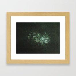Star Cluster Framed Art Print