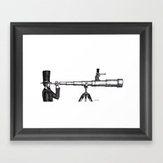 Spies Framed Art Print
