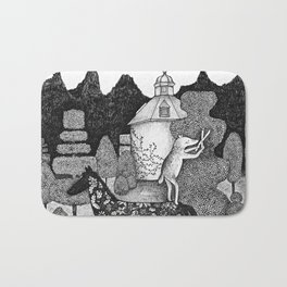 The Gardner Bath Mat