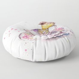 There is always time for tea Floor Pillow