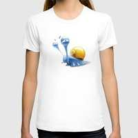 snail T-shirts featuring snail by Antracit