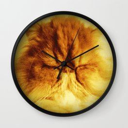 Bunker the Cat Wall Clock