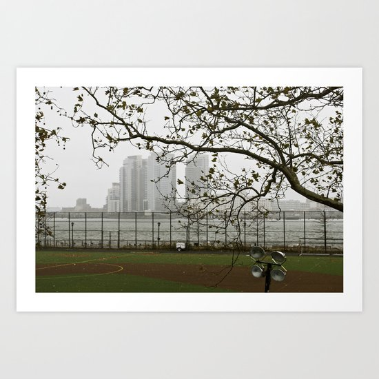 Day after Hurricane Sandy Art Print