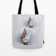Winter's Benches Tote Bag