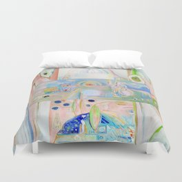 Waiting for and Becoming the Eternal Zepheron Duvet Cover
