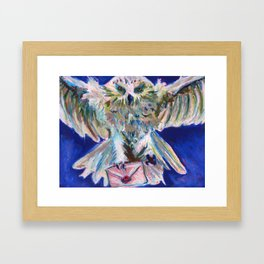 Send an Owl Framed Art Print