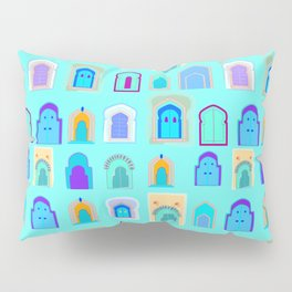 Moroccan Doors Pillow Sham