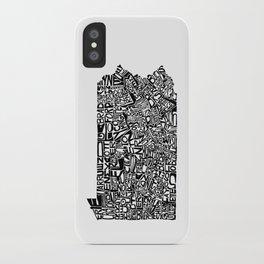 Typographic Pennsylvania iPhone Case