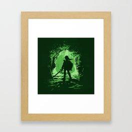 LINK - Legend of Zelda Framed Art Print