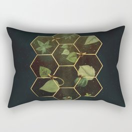 Bees in Space Rectangular Pillow