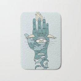 Sacred Hand Bath Mat