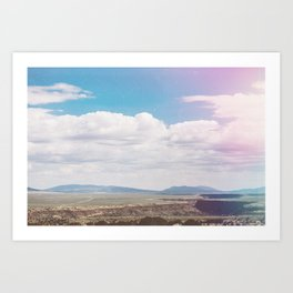 Dry Canyon Art Print