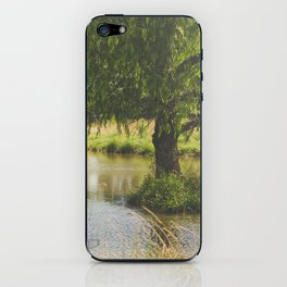 I'll Be Waiting Here for You. iPhone Skin