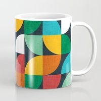 pie Mugs featuring Pie in the sky by Picomodi