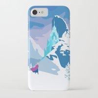 frozen iPhone & iPod Cases featuring Frozen by TheWonderlander