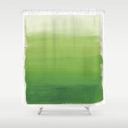 Greens No. 1 Shower Curtain