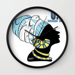 BlackQueen (Blue) Wall Clock