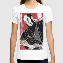 Yakuza and tiger irezumi T-shirt