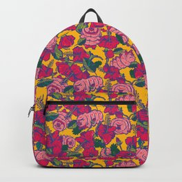 Water bears with Flowers Backpack
