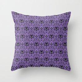 999 Happy Haunts Throw Pillow