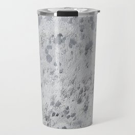 Silver Hide Print Metallic Travel Mug