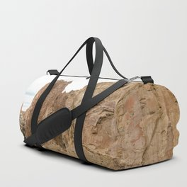 Smith Rock Oregon Desert Sunset - Nature Photography Duffle Bag