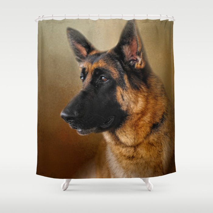 Best in Show - German Shepherd Shower Curtain by jaijohnson | Society6