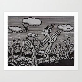 Bien Nacido Art Print