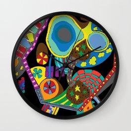 Childish Landscape Wall Clock