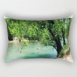 Sand Bar Paradise Rectangular Pillow