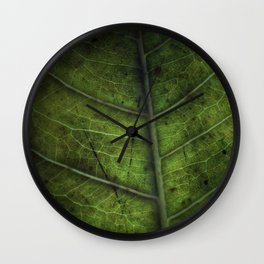 Leaf Five Wall Clock