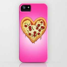 Pizza Heart iPhone Case