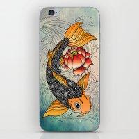 koi iPhone & iPod Skins featuring Koi by Tuky Waingan